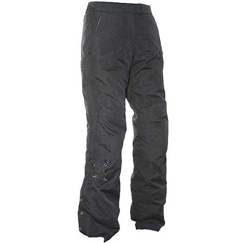 Joe Rocket Ballistic 70 Womens Textile Sports Bike Motorcycle Pants - Black  Medium