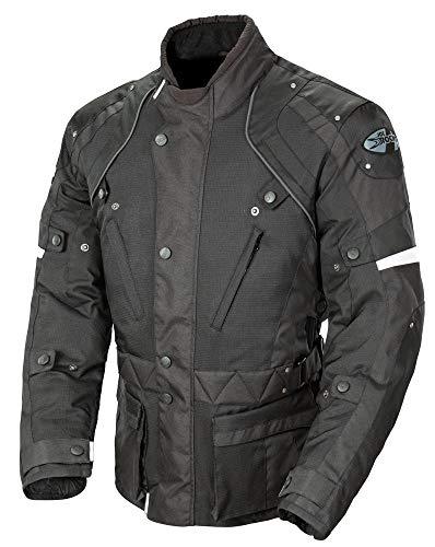 Joe Rocket Ballistic Revolution Mens Textile Sports Bike Motorcycle Jacket - BlackBlackMedium