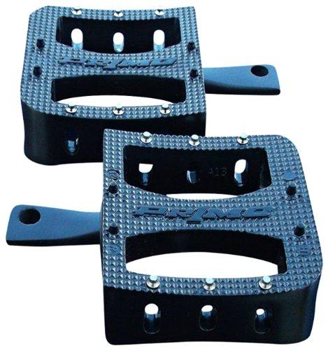 DK Custom Products Black SGS Primo Deluxe Foot Pegs Harley-Davidson Footpegs DK-SGS-PRI-B