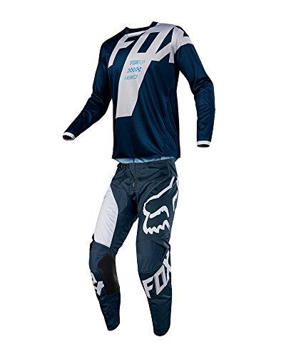 Fox Racing 2018 180 Mastar JerseyPants Adult Mens Combo Offroad MX Gear Motocross Riding Gear Navy