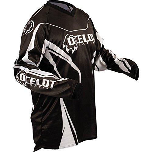 BlackWhite Sz XL Ocelot MX Jersey Motocross Jersey