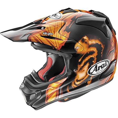 Arai VX-Pro 4 Barcia BlackOrange Motocross Helmet - Large