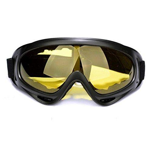Adult Motocross Motorcycle Dirt Bike Atv Mx Off-road Goggles (yellow)