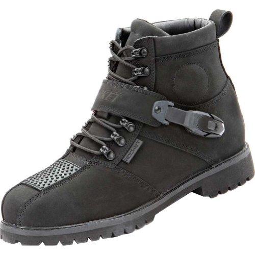 Joe Rocket Big Bang 2.0 Men's Leather Street Motorcycle Boots - Black / Size 11
