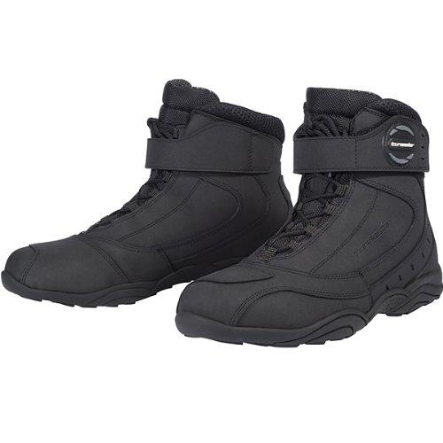 Tour Master Response Wp 2.0 Road Men's Leather Street Bike Motorcycle Boots - Black / Size 10