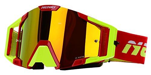 NENKI MX Goggles NK-1025 Motocross Goggle RED YELLOW