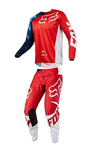 Fox Racing 2018 180 Race JerseyPants Adult Mens Combo Offroad MX Gear Motocross Riding Gear Red