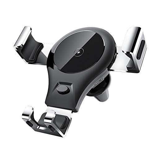 HYFFYH Wireless Car Charger with Touch Sensitive Clamp 10W Fast Charger Compatible for Camera X88P Camera S1098 and More Apple Android Phone Universal