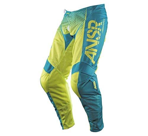 Answer Racing Syncron Air Pants - 34 WaistYellowBlue