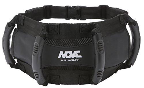 NOVAC Passenger Safety Belt by Grip Grab Handle able to wear as a Kidney Belt for ATV Superbike JETSKI Motorcycle Motobike Bike Snowmobile