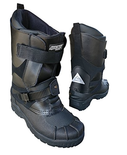 Joe Rocket 1825-011 SnowGear Black US 11 Snowmobile Boot1 Pack