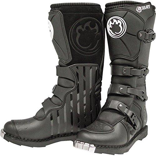 Black Sz 10 Ocelot SX3 Boots Motocross Boots