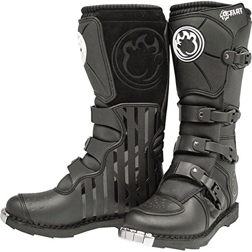 Ocelot Black SZ 1 SX3 Youth Boots Kids Motocross Boots