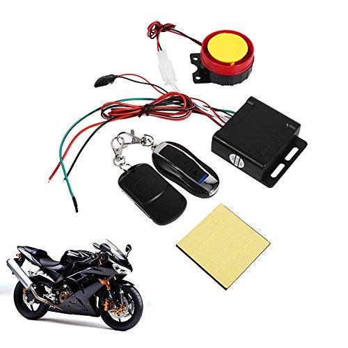 Motorcycle Bike Vehicle Anti-theft Security Kit Alarm System Remote Control 12V Anti-Hijacking Cutting Off Remote Engine Start Arming
