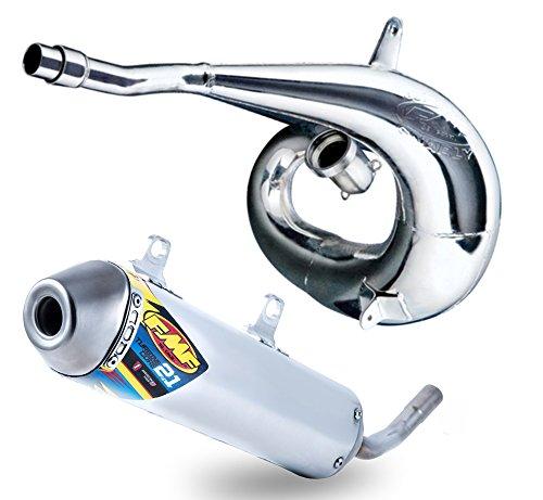 FMF Exhaust System - Gnarly Pipe TurbineCore 21 SA Silencer - KTM Husqvarna 250300 2017 _025203025210