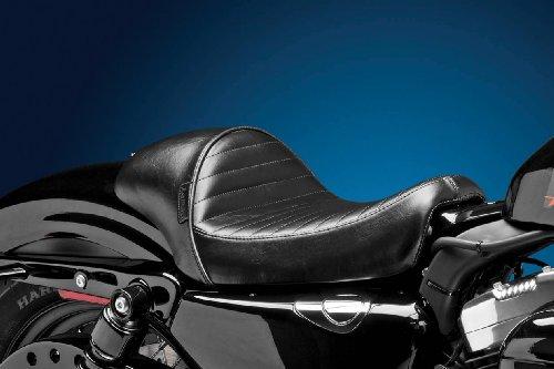 Le Pera Stubs Cafe Seat - Pleated - Black LK-426PT