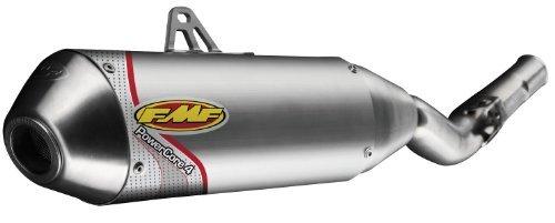 FMF Racing PowerCore 4 Slip-On  Color Natural Material Aluminum 041377