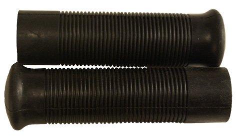Emgo Jack Hammer Grips - 1in bars Color Black 42-56510