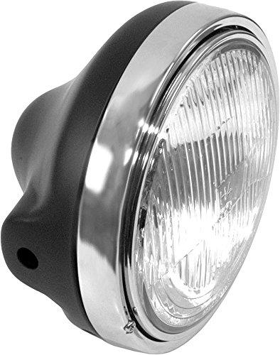Emgo Kawasaki Style 7in Headlight Assembly - Black 66-65010
