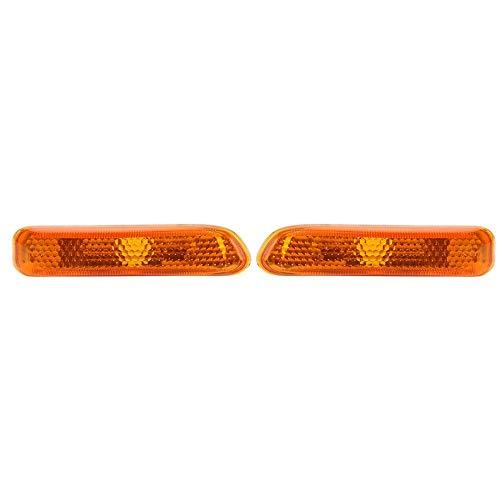 Side Marker Lights 1 Pair Side Marker Lights Fender Turn Signal Lamps for 3 Series E46 99-01