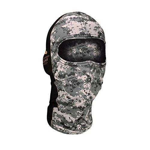 Zan Headgear Wbn700, Balaclava, Nylon, U.s. Army, Camo Crest
