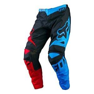 Fox Racing 180 Race Mens MX Motorcycle Pants - BlueRed  Size 38
