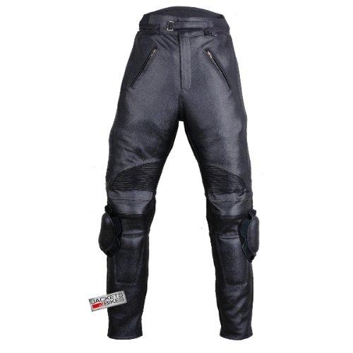 Motorcycle RACING ARMOR LEATHER PANTS w Slider 36w 30i
