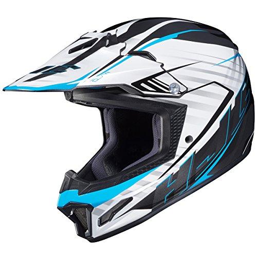 HJC CL-XY 2 Blaze MC2 WhiteBlackBlue Youth Motocross Helmet - Youth Small