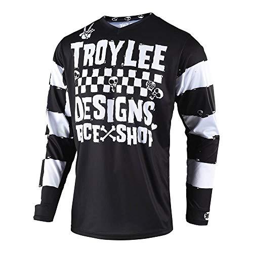Troy Lee Designs Off Road Motocross GP Race Shop 5000 Jersey Black Medium