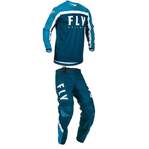 mxgear Fly Racing Youth Boys F-16 Motocross Jersey Pants NavyBlueWhite