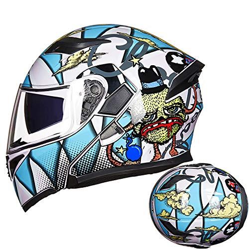 MMGIRLS DOT Certified Motorcycle Modular flip Helmet Internal Sun Visor Full face Motorcycle HelmetM