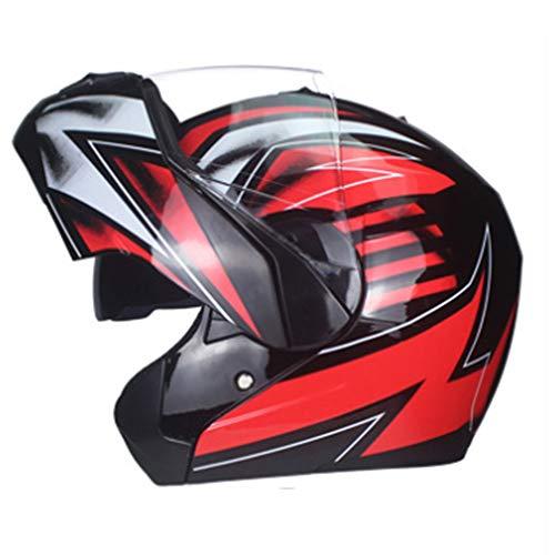 Shfmx Motorcycle Anti-Collision Full face Modular Helmet DOT Certified Men and Women Road Racing Motorcycle Helmet Jet Double Mirror flip flip Helmet S M L XLXL