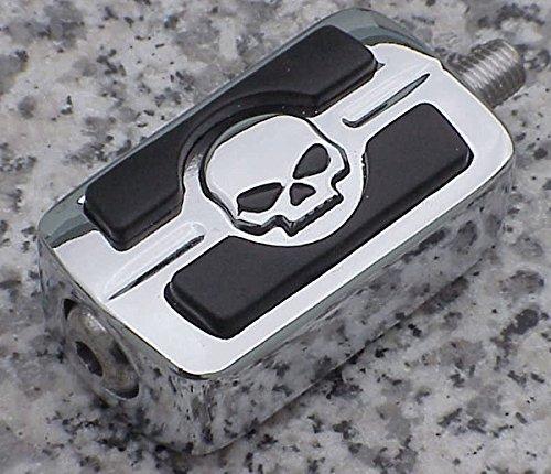 i5 Chrome Skull Gear Shift Peg for Harley Davidson