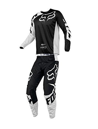Fox Racing 2018 180 Race JerseyPants Adult Mens Combo Offroad MX Gear Motocross Riding Gear Black