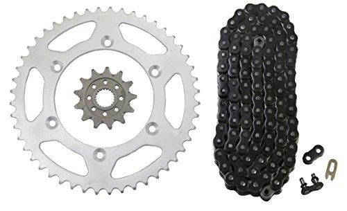 Black 520x112 Drive Chain 1348 Gearing Yamaha MX Bikes 13T 48T Sprockets