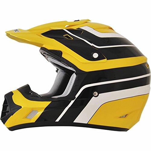 AFX FX-17 Vintage Yamaha Factor Mens Motocross Helmets - X-Large
