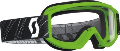 Scott USA 218158-0006043 89Si Youth Goggles Green  Clear Lens