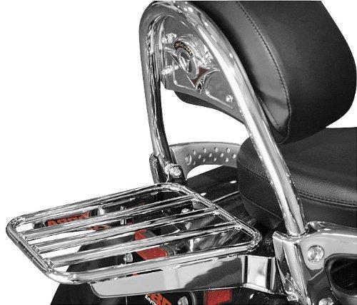 Cobra Tubed Luggage Rack for 2005-2008 Kawasaki VN1600D Vulcan 1600 Nomad OEM Backrests