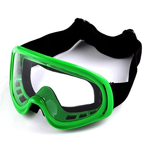 Motocross ATV Dirt Bike Ski Snowboard MX Goggles  Green