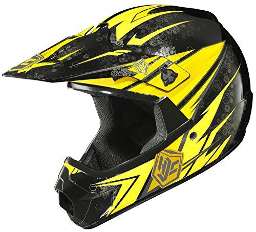 HJC CL-XY Pop N Lock Youth Motocross Helmet MC-3 Small