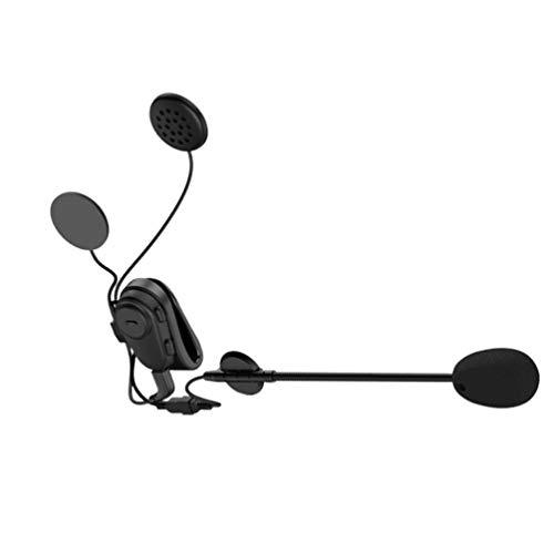 Exceart Helmet Headphones Wireless Waterproof Earphones for Motorbike Motorcycle Helmet Riding Hands Free
