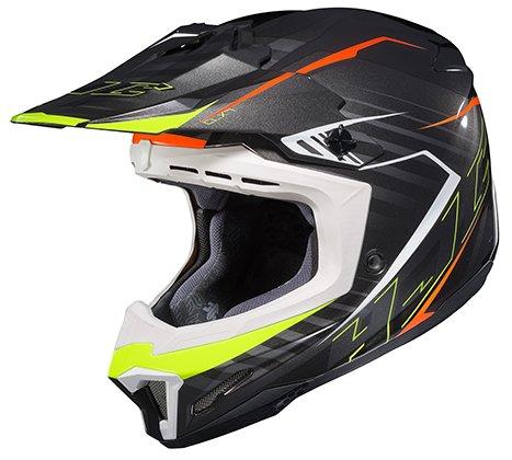 HJC CL-XY 2 Blaze MC5 BlackHi-Viz Yellow Youth Motocross Helmet - Youth Small