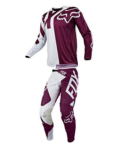 Fox Racing 2018 360 Preme Combo Jersey Pants Adult Mens MX ATV Offroad Dirtbike Motocross Riding Gear Purple