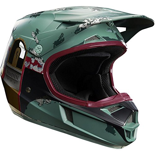 Fox Racing V1 Boba Fett Limited Edition Youth Motocross Helmets - Youth Large