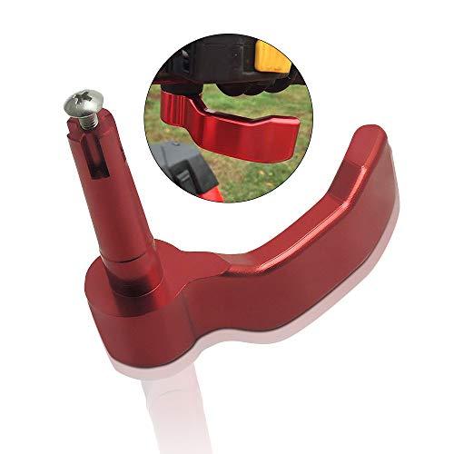 Aluminum Thumb Throttle Lever Replacement for Polaris Scrambler Sportsman 5505708501000 2009-2018 Black 20103362010359 Red