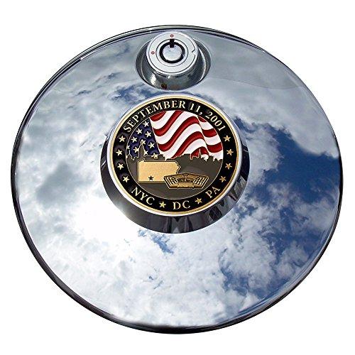 MotorDog69 September 11 Commemorative Harley Fuel Door Cover Coin Mount Set…
