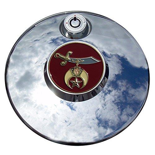 MotorDog69 Shriner Harley Fuel Door Cover Coin Mount Set…