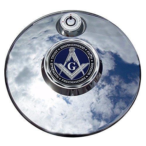 MotorDog69 Masonic Harley Fuel Door Cover Coin Mount Set…