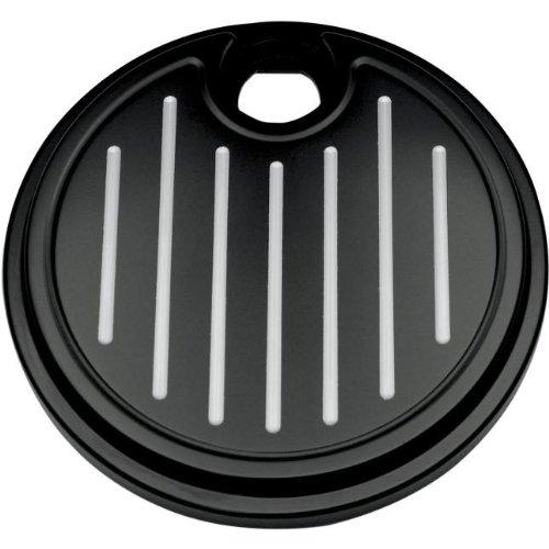 Pro-One Ball Milled Black Billet Fuel Door
