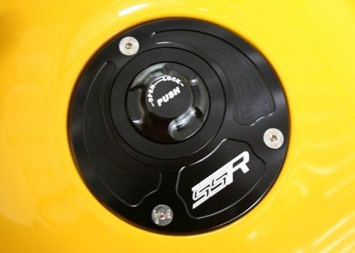 Kawasaki Quick Release Keyless Billet Gas Fuel Petrol Cap Lid Ninja 650 650R ABS